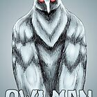 Owlman by MetalheadMerch