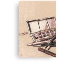 Art Supplies Canvas Print