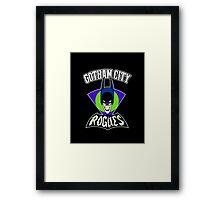 Gotham City Rogues Framed Print