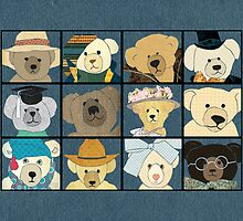 Teddy Bears by Janet Carlson