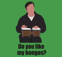 Sheldon Cooper Playing Bongos (with quote) - Minimalist design by mashuma3130