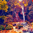 Laotian Waterfall by lalalu