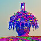 The Tiananmen Flowers by lalalu