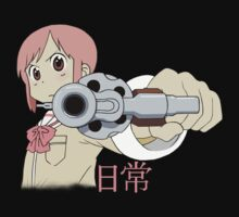 Nichijou Misata With a Gun  by VoXXXRebel