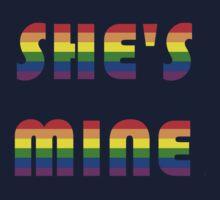 She's Mine Rainbow by Rjcham