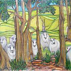 The Curious Case of the Curious Sheep of Glen Fern Farm by Karen Gingell