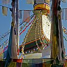 Boudnath Stupa by Harry Oldmeadow