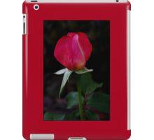 double delight rose bud iPad Case/Skin