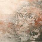 Chinese Zodiac - The  Monkey by KirstenOnRedB