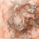 Chinese Zodiac - The Rooster by KirstenOnRedB
