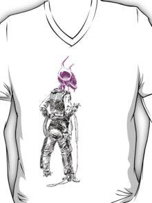 the Good, the Bad & the Alien (purple head variant) T-Shirt