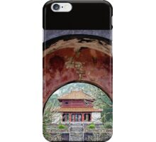 Doorway to the past - Hue, Viet Nam. iPhone Case/Skin