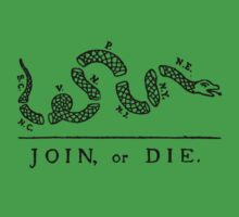 Join Or Die by Solfie