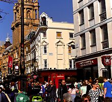 Near the Chandos - St Patrick's Day Parade, London 2014 by Lisa Hafey