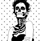 Lady Skull dots by aureliescour