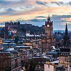 A Calton hill sunset by Beautiful Edinburgh