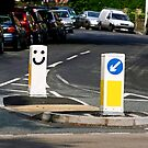 Happy Bollards! by Vincent Abbey