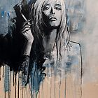 FEMME A LA CIGARETTE by GRAFFMATT
