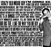 Quentin Tarantino's Quotes by lnaumann