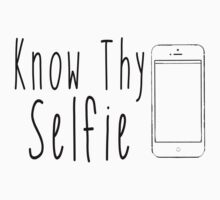 Know Thy Selfie by PatiDesigns