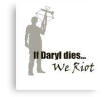 The Walking Dead - Daryl Dixon Canvas Print