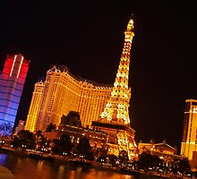 Paris, Las Vegas by WestCoastEden