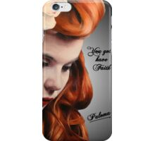 Paloma Faith iPhone Case/Skin