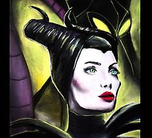 Maleficent Classic and New by ArtbyJoshua