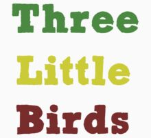 Three Little Birds by dotygonegreen
