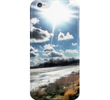 Winter's Last Day iPhone Case/Skin