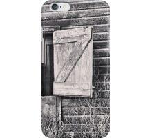 Swinging on the Barn Door iPhone Case/Skin