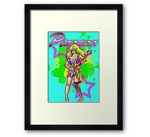 Pizzazz from the Misfits Framed Print