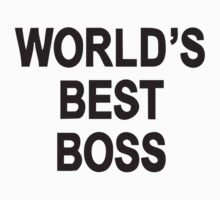 World's best boss by penguinua