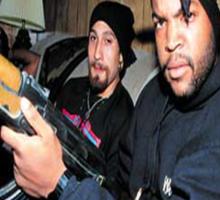 Ice Cube AK Sticker