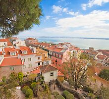 Lisbon view form the Castle by terezadelpilar~ art & architecture