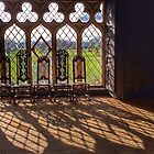 Medieval Window, Malahide Castle by Ludwig Wagner