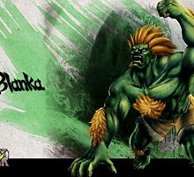 Blanka Street Fighter by NameIsSet