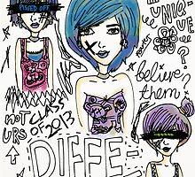 Be Different! by kaelaskywalker