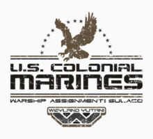 Colonial Marines by 8balltshirts