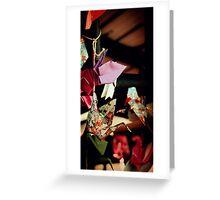 Crane Origami Greeting Card