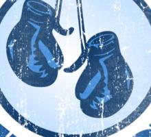 Cuttys Gym Distressed Sticker