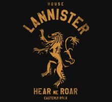 Game of Thrones House Lannister by nofixedaddress