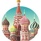 Saint Basil's Cathedral by FalcaoLucas