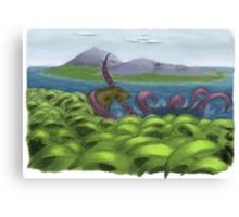 Amazing Paleontology Canvas Print