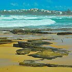 Dicky Beach, Caloundra by Penny Smith