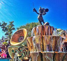 Mickey's Fountain by miyagi10