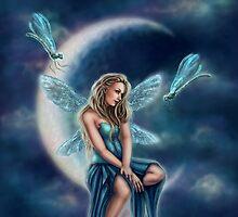 Dragonfly Moon by tiffanysrealm