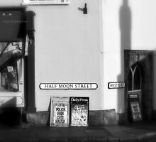 """ Half Moon Street "" by Richard Couchman"
