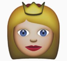 Princess emoji  by Chloe Hebert