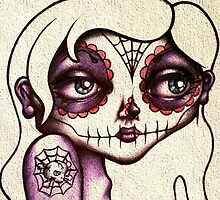 Sugar Skull Girl by LucyMogui